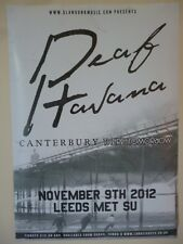 DEAF HAVANA+CANTERBURY+THERE FOR TOMORROW LARGE POSTER gig promo ticket cd album