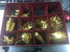 The Danbury Mint Gold Christmas Ornament Collection 2004