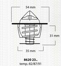 Thermostat Eau TRISCAN OPEL CAMPO (TF_) 2.5 D (TFR54) 76 CH