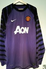 Nike Manchester United Player Issue Viola GK PORTIERE SHIRT-LARGE