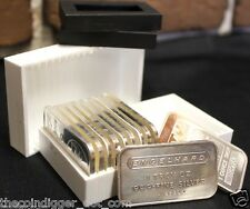 1 Sure Safe Bullion Vault Tubes Storage for Silver or Copper 1 oz BARS INGOTS