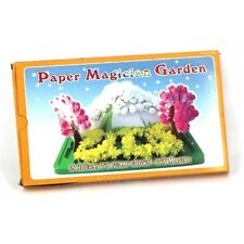 MAGIC GARDEN GROW CRYSTAL TREES FLOWERS SNOW PAPER NOVELTY TOY SCIENCE KIDS