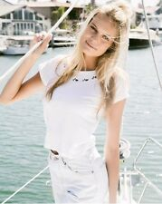 New! Brandy melville Cropped White Mason Roses Embroidery Graphic Top