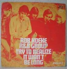 "ROB HOEKE R&B GROUP Try to realize (LISTEN) RARE 7"" 1968 r&b beat Holland"