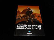 Pécau / Bane / Thorn : Lignes de front 3 : LRDG Delcourt 2014 1ère édition