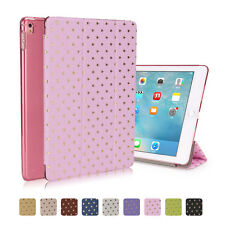 Stand Leather Smart Cover Crystal PC Case For Apple iPad mini iPad 2 3 4 air Pro