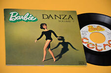 "BARBIE DANZA VOL 1 VINILE 7"" ORIGINALE ITALY 1974 CON LIBRO NM ! COME NUOVO"