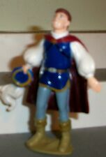 "Prince Charming Holding Hat Snow White 3.5"" PVC Figure Disney FREE SHIP GREAT"