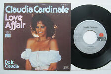 "7"" Claudia Cardinale - Love Affair / Do It Claudia - Jean-Luc Drion Leo Carrier"