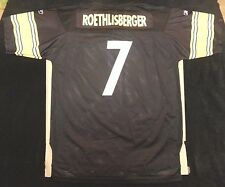 Ben Roethlisberger Pittsburgh Steelers Reebok NFL replica jersey youth sz XL