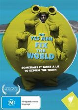 The Yes Men Fix The World DVD New/Sealed Region 4