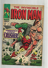 IRON MAN #6: Silver Age Grade 7.0 Classic Featuring Crusher Creel!!