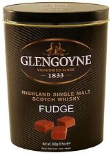 Gardiners Traditional Glengoyne Scotch Whisky Fudge Tin - 300g