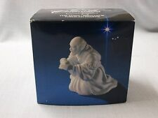 Avon Nativity Collectibles THE MAGI MELCHIOR White Porcelain Figurine 1982