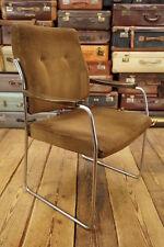 Vintage Armlehner Mid Century Design 60er Stuhl Loft Lounge Chair Konferenzstuhl