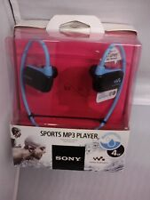 NWZ-W273SBLUE BRAND NEW - NWZW273SBLUE Sony Walkman 4 GB Flash MP3 Player Blue
