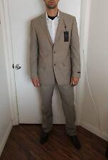 NWT $700 38R John Varvatos Bedford Slim Fit Suit 100% Wool