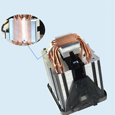 Pure Copper Four heat pipe three fan CPU Cooler Heatsink for AMD FM2 FM1 JL