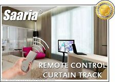 Saaria Remote Control Motorized Curtain Track 11 Feet & Custom Size Available