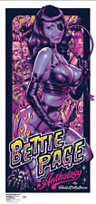 Rockin' Jelly Bean Zombie Hunter Page SILK SCREEN Poster 2nd Bettie EROSTIKA New