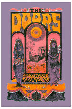 The Doors at Sacramento Psychedelic  Concert Poster 1970  13x19