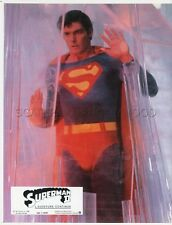 CHRISTOPHER REEVES SUPERMAN II 2 1980 VINTAGE LOBBY CARD #5