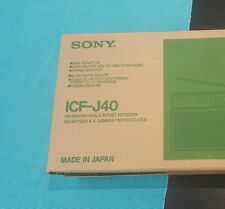 Original Sony radio ICF-J40 Made in Japan 4 bands