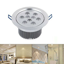 220V 5W Aluminum LED Ceiling Recessed Downlight Spot Light Lamp Bulb HG Warm