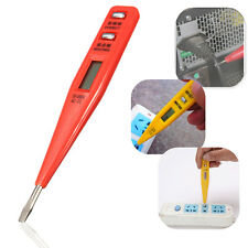 Digital LCD AC/DC Electric Voltage Tester Alert Test Pen Detector Sensor Stick