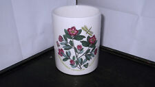 PORTMEIRION BOTANIC GARDEN UTENSIL JAR / BASE TO STORAGE JAR  WITH RHODODENDRON