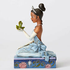 Disney Traditions Jim Shore Princess TIANA with Prince Naveen as Frog Figurine