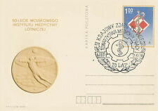 Poland postmark LODZ - occupational medicine