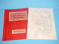 1947 1948 1949 1950 1951 1952 1953 1954 FRAZER MANHATTAN HENRY J WIRING DIAGRAMS