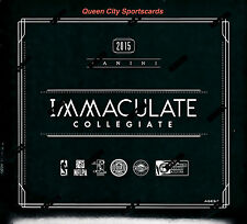 2015 Panini Immaculate College Multi-Sport Factory Sealed Hobby Box