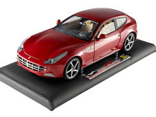 SUPER ELITE FERRARI FF 1/18 DIECAST MODEL CAR BY HOTWHEELS X5490