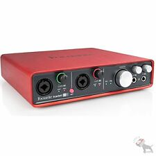 Focusrite Scarlett 6i6 USB Computer Home Recording Interface w/ Mic Preamps USED