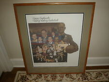 KANSAS JAYHAWKS:History-Making Basketball Signed Limited Edition Lithograph  COA