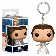 FUNKO DISNEY BEAUTY & THE BEAST BELLE CELEBRATION POCKET POP! KEY CHAIN 12397