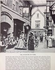 Castle Museum York Shop Fronts Collection Vintage Print c1950