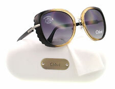 NEW Chloe Sunglasses CL 2225 Black CO1 CL2225 56mm