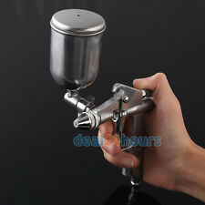 Gravity Feed Spray Gun Detail TOUCH-UP HVLP Auto Basecoat Paint Airbrush Tool