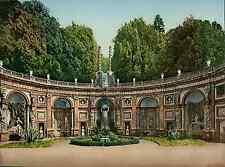 Contorni di Roma. Frascati. Villa Aldobrandini. Le Cascatalle. PZ vintage photoc