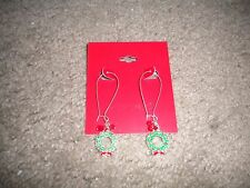 Kohl's JOY with red/green ball pierced earrings for the Christmas holiday NEW