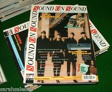 1995 Lot of 7 SOUND on SOUND Magazines: BEATLES Archive, QUEEN BOHEMIAN, KORG X5