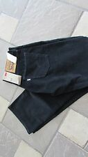 NEW LEVIS 514 STRAIGHT FIT CORDUROY PANTS JEANS MENS 29X30 BLACK/NAVY FREE SHIP