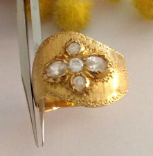 ANELLO IN ORO GIALLO 18KT CON CUBIC ZIRCONIA - 18KT SOLID GOLD RING