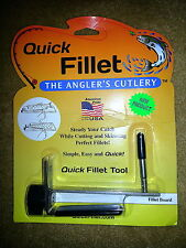 ANGLER'S QUICK FILLET TOOL FISHING WALLEYE PERCH PANFISH CATFISH CRAPPIE NEW