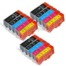15x CANON CARTUCCE PGI CLI 520 521 per Pixma mx870 mx860 mp990 ip3600