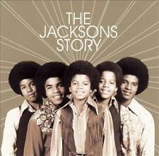 THE JACKSONS Story Jackson 5 Jermaine Michael Greatest Hits CD + BONUS Thriller!