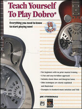 Teach Yourself to Play Dobro Guitar TAB Music Book with CD Learn How To Method